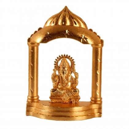 Ganesha with Mandir